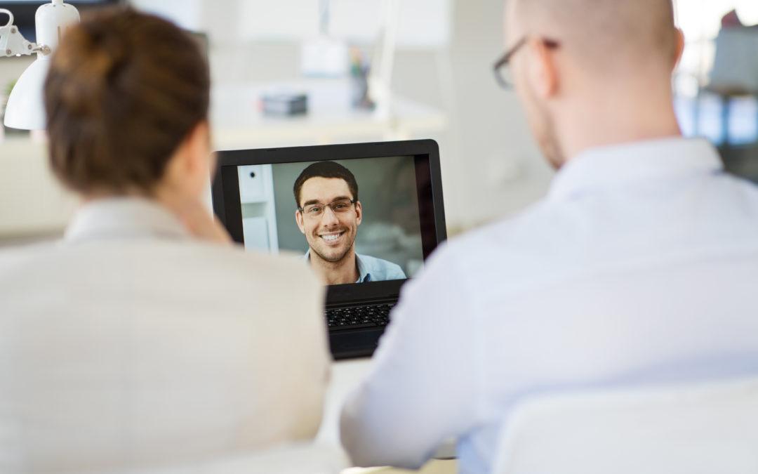 Interviews Go Virtual